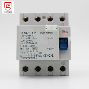 Residual Current Circuit Breaker, with Lamp Indiactor pictures & photos