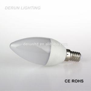 Chandelier C35 C37 E14 E27 Plastic Aluminum Epistar SMD2835 5W LED Candle Bulb with CE RoHS pictures & photos