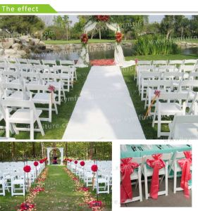 Black White Plastic Folding Resin Wedding Party Wimbledon Chair (XYM-W012) pictures & photos