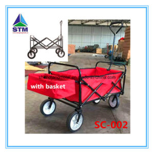 Folding Children Kids Toy Wooden Wagon for Sale pictures & photos