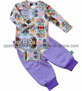 Custom High Quality Baby Bodysuit (ELTROJ-33) pictures & photos