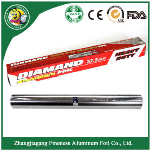 Household Aluminum Foil Roll with Color Box/Shrink Film pictures & photos