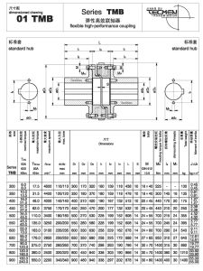 01tmb650 Series Flexible High-Performance Coupling pictures & photos