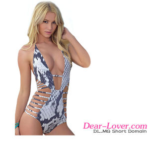 Lady Lux Viper Monokini One Piece Swimwear Swimsuit pictures & photos