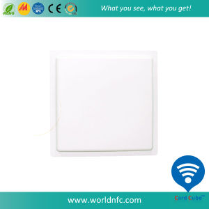 Intergrated Long-Distance UHF RFID Reader/Card Reader Use for Parking System pictures & photos