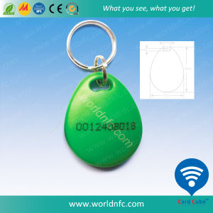 Access Control 125kHz T5577 ABS Waterproof RFID Keyfob, Key Tag pictures & photos