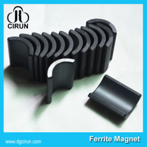 550 560 Arc Shaped Permanent Motor Ferrite Magnet pictures & photos