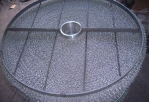 Stainless Steel Demister Pad with Grid China Anping Supplier Factory pictures & photos