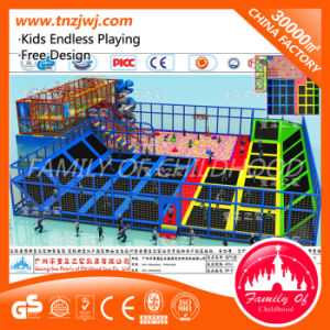 Ce Indoor Soft Play with Trampoline Maze Playground for Sale pictures & photos