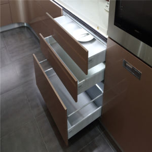N & L Modern Kitchen Furniture with Lift Table Electric Drawers pictures & photos