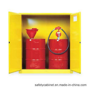 Westco Flammable Safety Storage Cabinet for 2 Vertical Drums pictures & photos
