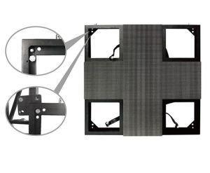 P3.91 Indoor/Outdoor Rental Cabinet (Front Access) 500*500mm pictures & photos