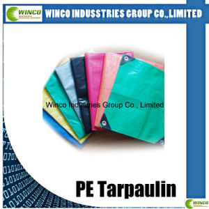 Hot! Tarpaulin Waterproof 45GSM-250GSM PE Tarps with UV Treatment for Cover, Tarp Sheet, Tarp Roll pictures & photos