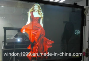 High Contrast Holographic Rear Projetcion Film for Shop Advertising pictures & photos