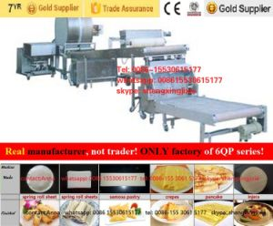 Gas/ Ele Pancake Machine/ Thin Pancake Machinery/ Flat Pancake Machine (manufacturer) pictures & photos
