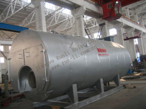 Fire Tube 3 Pass Wet Back Type Oil Fired Steam Boiler pictures & photos