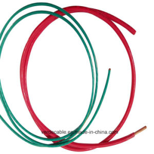 6AWG UL Copper PVC Insulated Thhn Nylon Cable pictures & photos