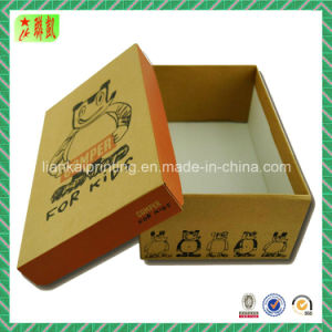 Two Pieces Corrugated Shoe Box Packaging pictures & photos