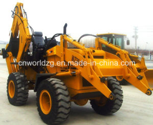 Artuculated Tractor Loader with Backhoe pictures & photos