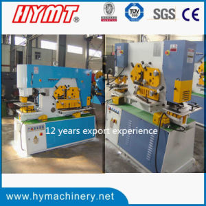 Q35Y-16 hydraulic combined punching shearing and bending machine, iron worker pictures & photos