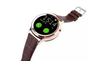 Bluetooth Smart Watch with Heart Rate UV Detection Wristwatch SIM TF Card Smartwatch pictures & photos