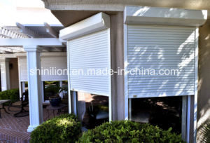 Construction Decorate Rolling Shutter Rolling Door (SLLP77) pictures & photos