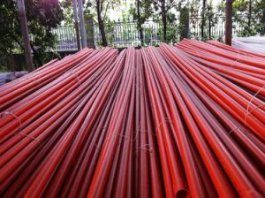 UPVC Electric Conduits (BS EN50086) /Communication Pipes/Cable Ductings pictures & photos