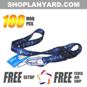 1 Inch Sublimation Neck Strap with Special Logo Imprinted (DSL25axa-1)