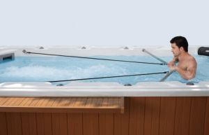 Outdoor Ss Jet Plunge Hot SPA Jacuzzi for Gym Tub pictures & photos