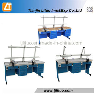 Good Quality Blue Color Metal Dental Cabinets pictures & photos