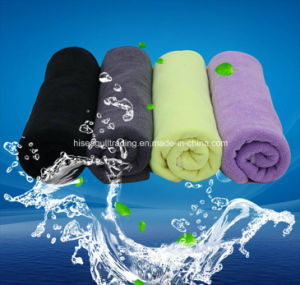 Black Color Microfiber Hair Drying Towel for Hair Saloon pictures & photos