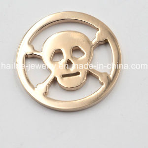 Hot Sale 316L Stainless Steel Coin Pendant with Coin Plates pictures & photos
