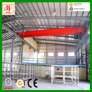 Wiskind Q235 Q345 Low Cost Prefabricated Steel Warehouse Frame pictures & photos