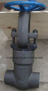 Forged Steel High Pressure Gate Valve pictures & photos
