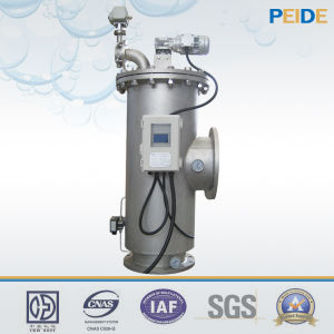 Industrial Water Treatment Automatic Cleaning Carbon Steel Water Filter pictures & photos