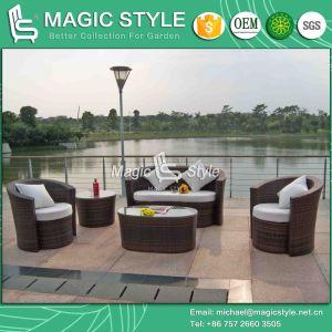 Patio Wicker Sofa Set Outdoor Rattan Sofa Set Combination Sofa Set (Magic Style) pictures & photos