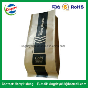 Coffee Bag with Valve & Tin-Tae & Kraft Paper