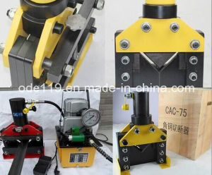 Hydraulic Angle Steel Cutter with Cutting Range 75*75*6mm pictures & photos