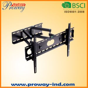 Dual Arm Fulll Motion TV Bracket for Most 32-65 Inch LED, LCD and Plasma Flat Screen Tvs Wall Bracket Max Vesa up to 600 X 400 Heavy Duty pictures & photos