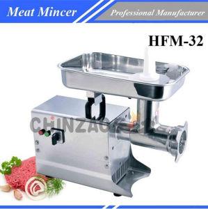 Electric Commercial Restaurant Machine Frozen Meat Mincer Hfm-32 pictures & photos