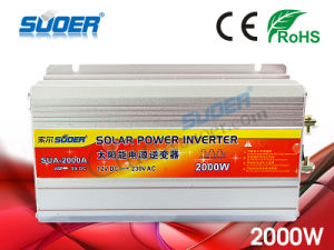 Suoer DC to AC Inverter 2000W Inverter 12V 220V (SUA-2000A) pictures & photos