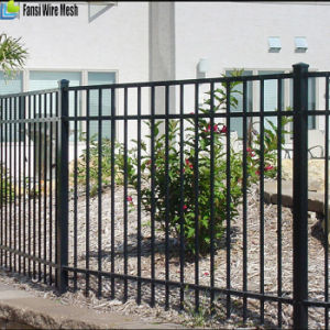 High Quality Decorative Wrought Iron Spearhead Steel Fence pictures & photos