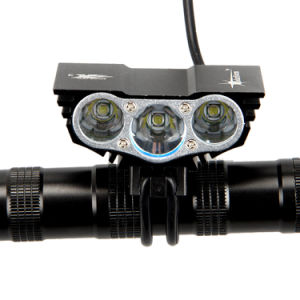 Bicycle Light 8000 Lumens 4 Mode Xm-L T6 LED Cycling Front Light Bike Light pictures & photos