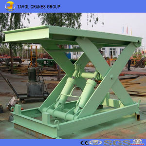 Vertical Hydraulic Stationary Type Scissor Lift, Fixed Type Scissor Lift, Car Lift pictures & photos