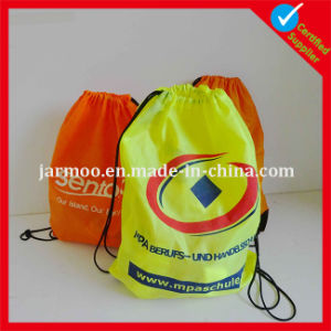 210d Nylon Promotion Backpack Drawstring Bag pictures & photos