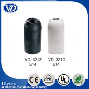 E14 Plastic Lamp Holder Vd321 pictures & photos