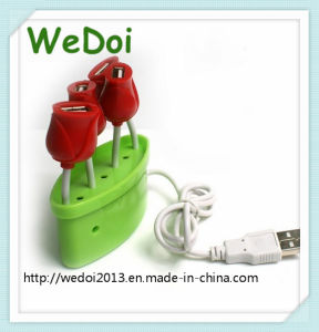 Promotional Gift Rose USB Hub for Your Love (WY-H33) pictures & photos