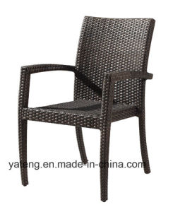 Outdoor Synthetic Rattan Garden Furniture Round Table With Stackable Chair Using Hotel Or Leisure Place Yta362 1 Ytd121