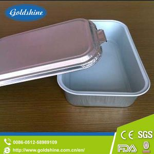 Aluminum Foil Food Container for Airplane Aircraft pictures & photos