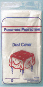 Plastic Furniture Protector Desk Dust Cover pictures & photos